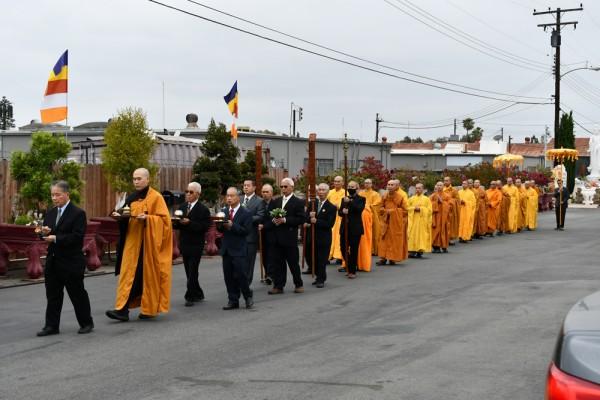 Tường trình sơ lược về Tuần Pháp Hội Phật Đản năm 2021